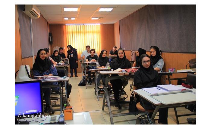 کلاس دکوراسیون داخلی  مجتمع فنی تهران