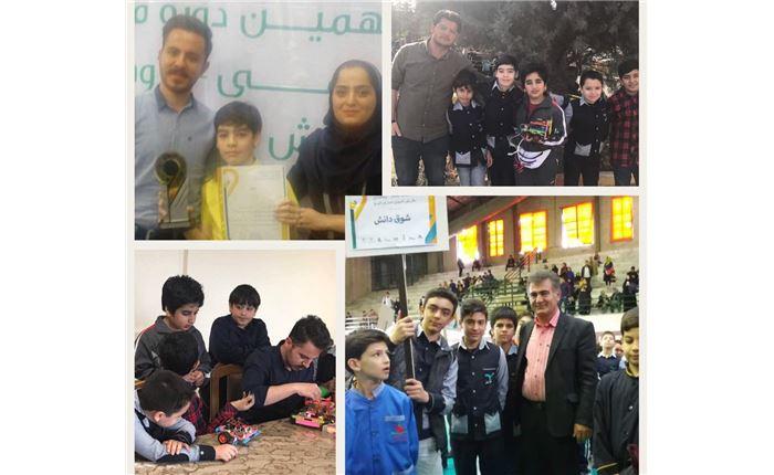کسب مقام اول در مسابقات رباتیک استان البرز