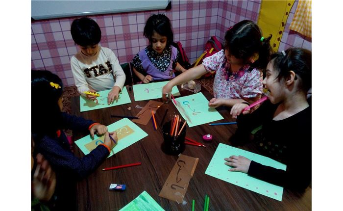 دبستان دخترانه رافعه- فعالیت گروهی
