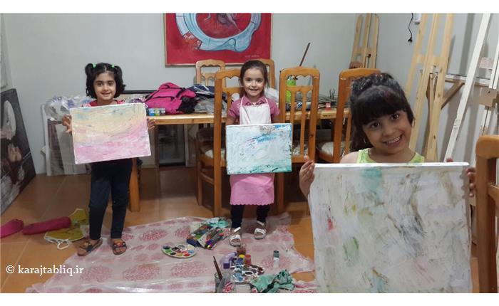 آغاز ثبت نام کلاس های تخصصی نقاشی کودکان آموزشگاه هنرهای تجسمی هنرنو