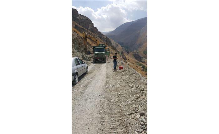 احداث راه دسترسی کاخ ناصری شهرستانک