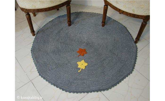 قالیچه فوق العاده شیک و منسجم قلاب بافی
