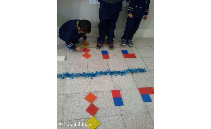 کارگاه ریاضی کلاس اول -آموزش تقارن