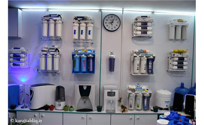 فروش انواع دستگاه تصفیه آب در کرج