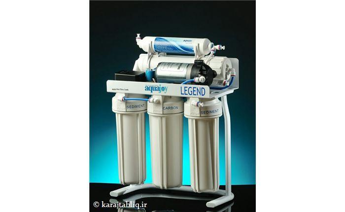 دستگاه تصفیه آب لجند